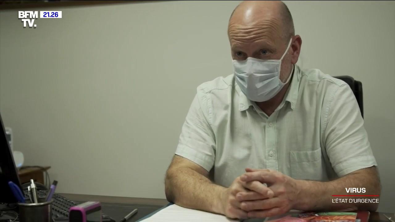 À Auray, le docteur Henry limite les contacts avec les patients qui présentent les symptômes du coronavirus