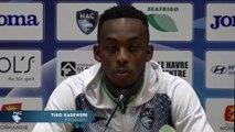 Après HAC - Auxerre (1-0), réaction de Tino Kadewere