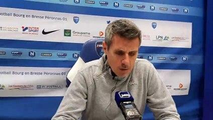 Bourg-en-Bresse / Stade lavallois : Olivier Frapolli