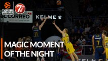 7DAYS Magic Moment of the Night: Matt Janning, KIROLBET Baskonia Vitoria-Gasteiz