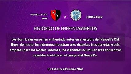 Previa partido entre Newell's Old Boys y Godoy Cruz Jornada 23 Superliga Argentina