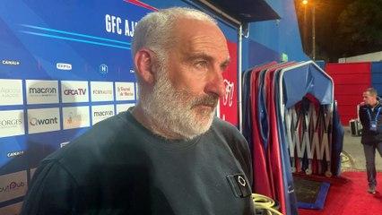 Vidéo - les réactions du coach F. Ciccolini & de D. Pandor après Pau (2-1)
