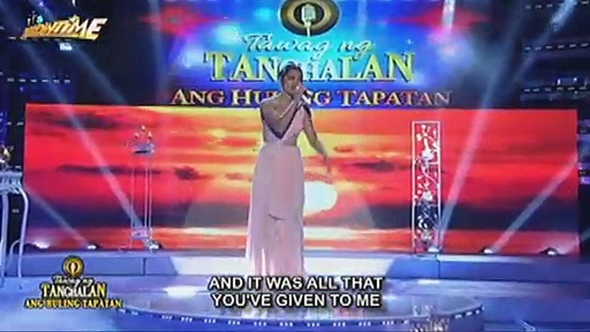 TNT Ang Huling Tapatan Day 5: Grand finalist Eumee Capile sings Mariah Carey's Vision Of Love