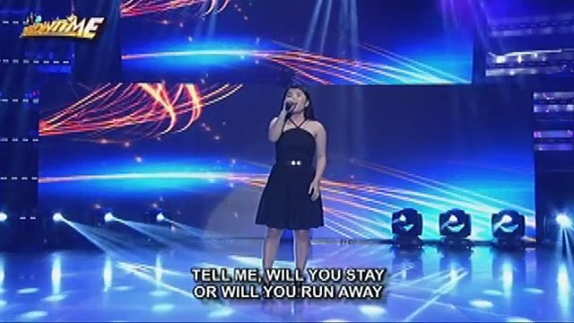 Pauline Agupitan returns to It's Showtime with an amazing Whitney Houston medley performance