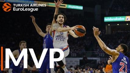 Round 28 MVP: Shane Larkin, Anadolu Efes Istanbul