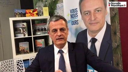 """VIDEO. Tours : cinq questions à Xavier Dateu, tête de liste """"Vous+Nous=Tours """""""