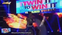 TWIN IT TO WIN IT Grand Finals: Fire dancing by Dingal twins