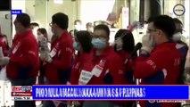 Higit 100 Filipino mula Macau, naka-uwi na sa Pilipinas