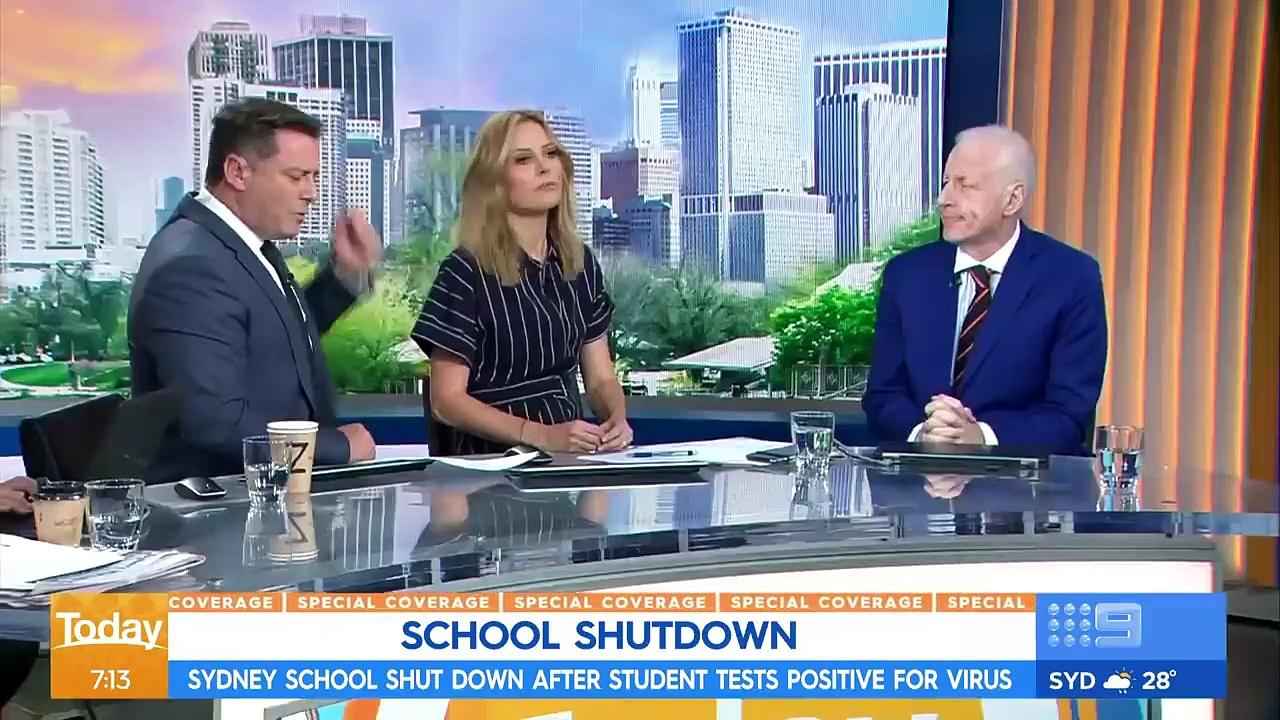 CORONAVIRUS SYDNEY SCHOOL SHUTDOWN, BABY TESTS POSITIVE. NEWS UPDATE