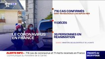 716 cas de coronavirus et 11 morts sont recensés en France