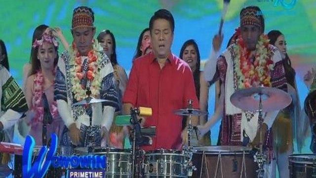 Wowowin Primetime: Willie Revillame, walang kakupas-kupas sa pagtugtog ng percussion!