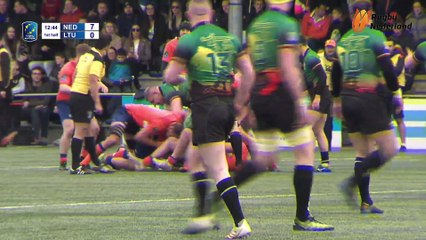 REPLAY NETHERLANDS / LITHUANIA - RUGBY EUROPEMEN TROPHY 2019 /2020