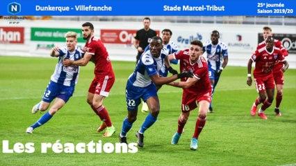 Réactions USLD-Villefranche (J25)