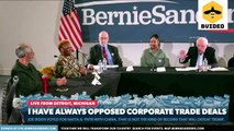 Senator Bernie Sanders Hears From Detroit Workers Devastated By Corporate Trade Deals