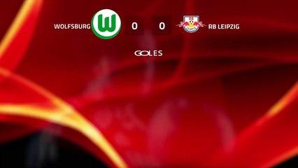 Resumen partido entre Wolfsburg y RB Leipzig Jornada 25 Bundesliga