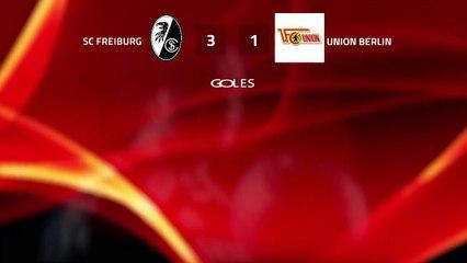 Resumen partido entre SC Freiburg y Union Berlin Jornada 25 Bundesliga