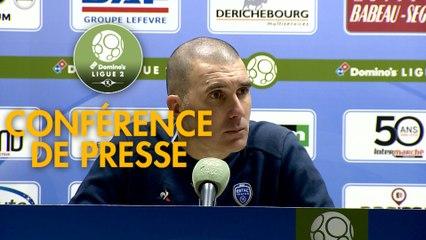Conférence de presse ESTAC Troyes - Paris FC (1-1) : Laurent BATLLES (ESTAC) - René GIRARD (PFC) - 2019/2020