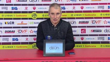 """""""On a eu les opportunités pour repartir avec un bon résultat"""", Denis Zanko après Dijon/TFC"""
