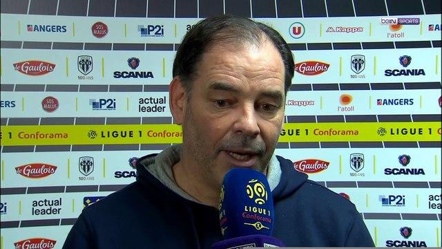 """Angers - Moulin : """"Très satisfait de la qualité de jeu"""""""