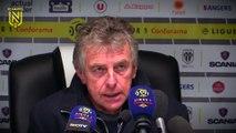Angers SCO - FC Nantes : la réaction des coachs