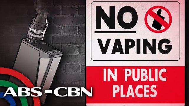 No Vaping in Public Places   Failon Ngayon