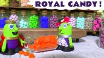 Funny Funlings Royal Candy with Thomas and Friends and a Marvel Avengers Mashem in this Toy Story Family Friendly Full Episode English Story from a Family Channel