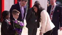 'She really is beautiful innit': Schoolboy wowed by Duchess of Sussex