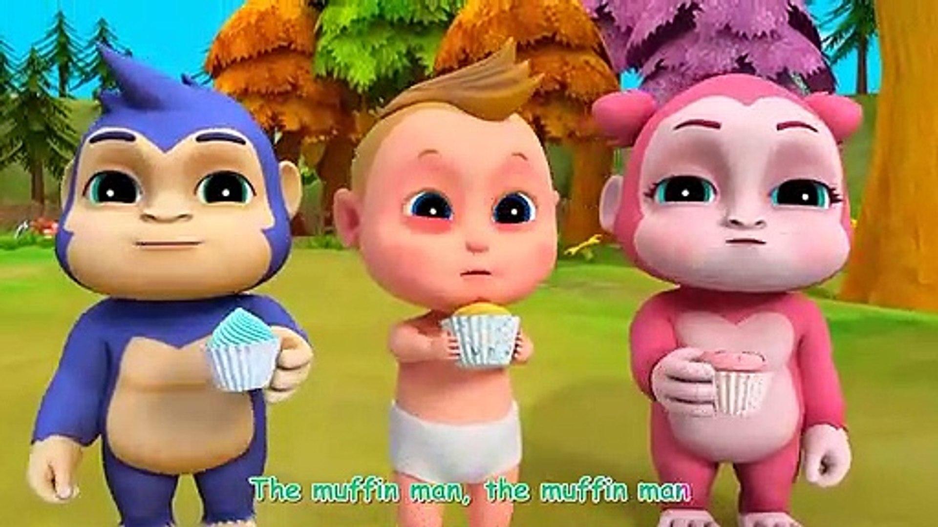 Talent Muffin Baker Song W Education Nursery Rhymes & Kid Songs