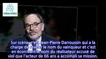 Jean Pierre Darroussin « ne voulait pas humilier » Roman Polanski