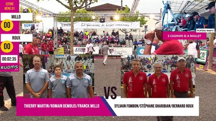 International à pétanque de Ruoms 2019 : 32ème MILLO vs ROUX