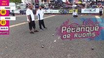 International à pétanque de Ruoms 2019 : Finale FRANCE vs VERJUS
