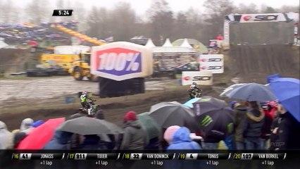 Gautier Paulin vs Clement Desalle Battle - Race 1 - MXGP of The Netherlands 2020