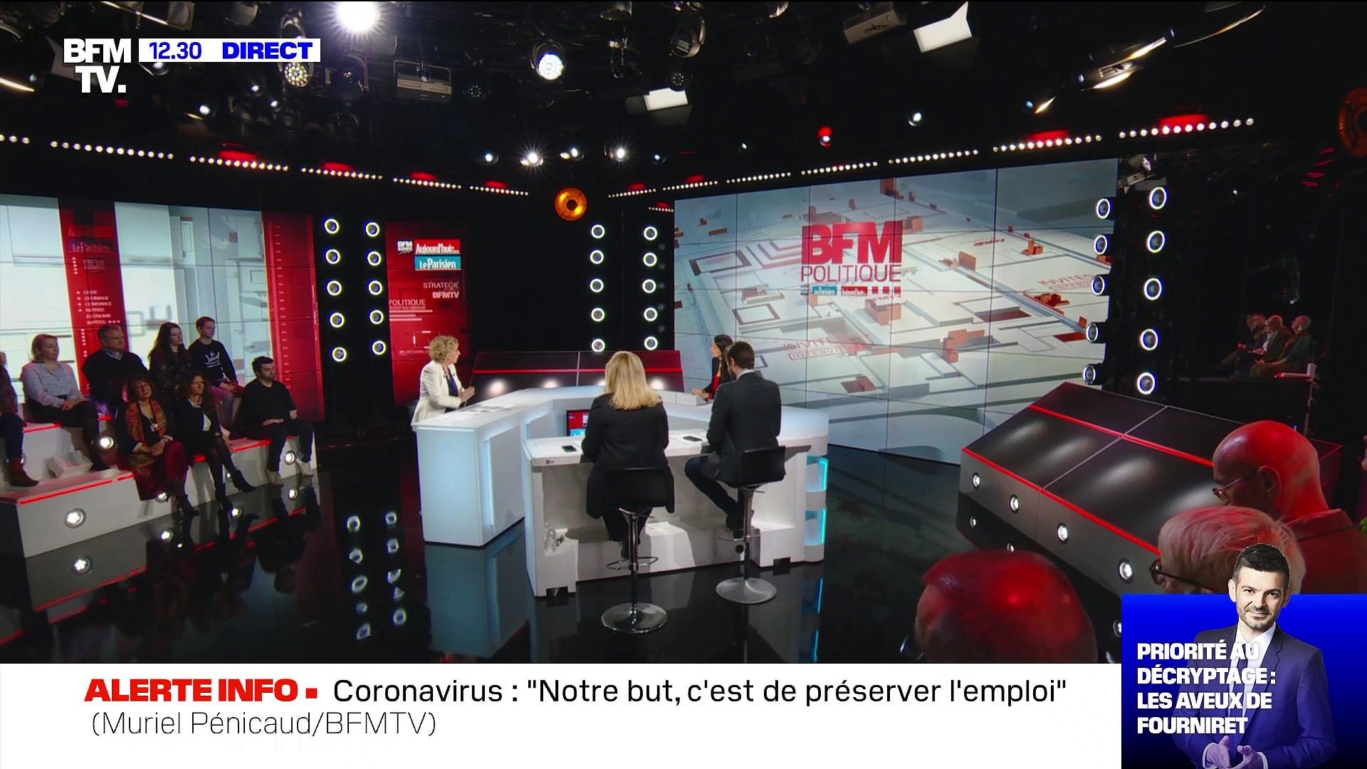 """Coronavirus : """"Dans toutes les entreprises qui le permettent, le télétravail fait partie de la prévention"""" – 08/03"""