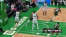 Résumé de l'autre match des playoffs entre les Boston Celtics et Milwaukee Bucks. Giannis Antetokounmpo n'a laisser aucune chance à ses adversaires.