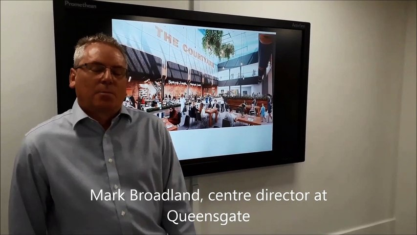 Queensgate bus station partial relocation