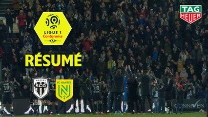 Angers SCO - FC Nantes (2-0)  - Résumé - (SCO-FCN) / 2019-20