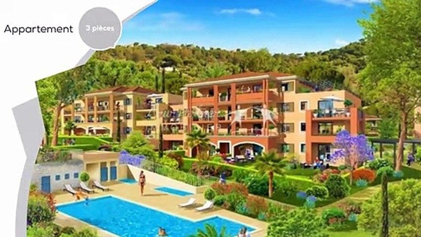 À Bormes-Les-Mimosas (83), appartement neuf avec piscine