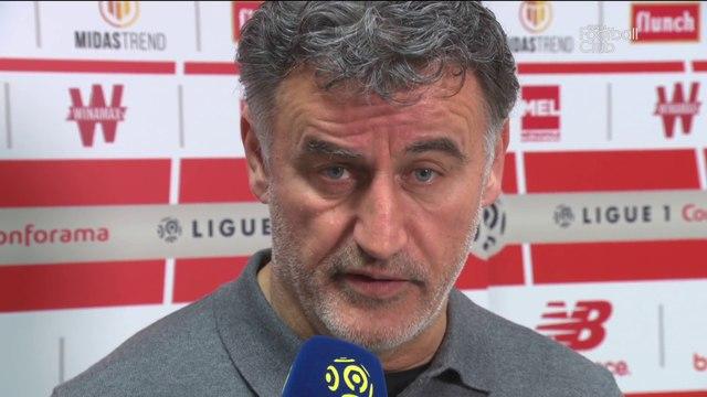 """Christophe Galtier : """"J'ai aimé le comportement de mon équipe"""""""