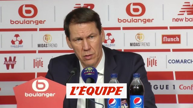 Garcia «On était un peu en mode diesel» - Foot - L1 - OL