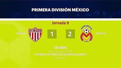 Resumen partido entre Necaxa y Morelia Jornada 9 Liga MX - Clausura