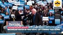 Senator Bernie Sanders Rally At Umich With Aoc