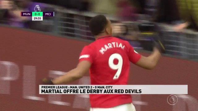 Martial offre le derby aux Red Devils