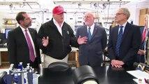#US #Corona #DonaldTrump U.S. President Donald Trump Visits CDC In Atlanta