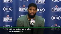 "NBA - George : ""Kawhi a l'attitude de Kobe, l'attitude des grands"""