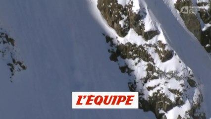 le run gagnant d'Arialna Tricomi en Autriche - Adrénaline - Ski freeride