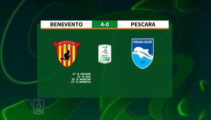 HIGHLIGHTS #BeneventoPescara 4-0 #SerieBKT