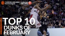 Turkish Airlines EuroLeague, Top 10 Dunks of February!