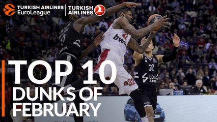 Top 10 Dunks of February!