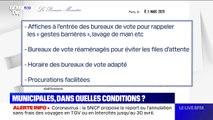 Coronavirus: quelles mesures vont être mises en place pour la bonne tenue des municipales?