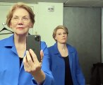 Sen. Elizabeth Warren hits the 'Flip the Switch Challenge' on 'Saturday Night Live'